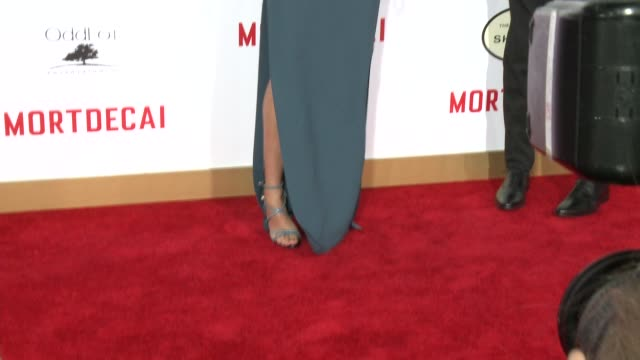 CLEAN Mortdecai Los Angeles Premiere at TCL Chinese Theatre on January 21 2015 in Hollywood California