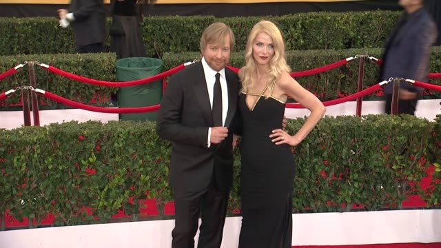 morten tyldum and janne tyldum at the 21st annual screen actors guild awards - arrivals at the shrine auditorium on january 25, 2015 in los angeles,... - janne tyldum stock videos & royalty-free footage