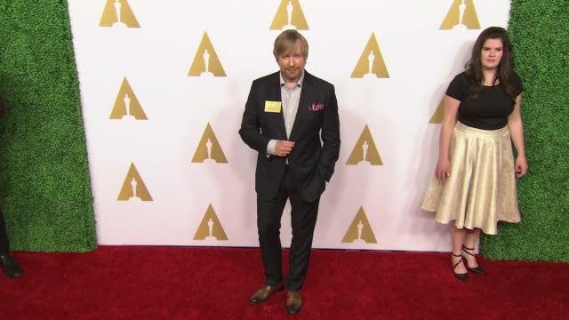 morten tyldum at 87th annual academy awards nominee luncheon - reception at the beverly hilton hotel on february 02, 2015 in beverly hills,... - the beverly hilton hotel stock videos & royalty-free footage