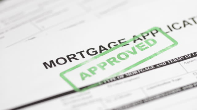 mortgage application - 4k - loan stock videos & royalty-free footage