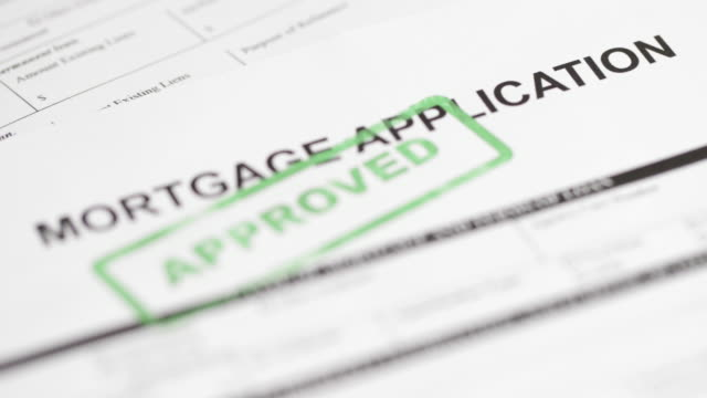 mortgage application - 4k - representing stock videos & royalty-free footage