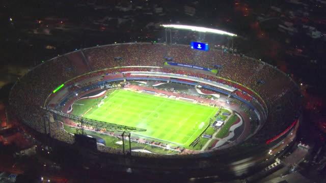 são paulo - morumbi football stadium - south america stock-videos und b-roll-filmmaterial