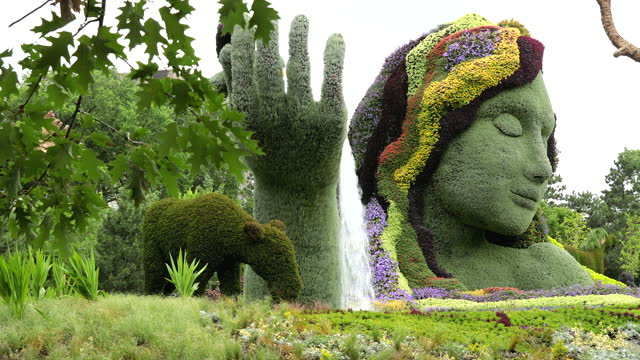 mosaïcultures internationales is the name of an international competition governed by the international mosaiculture committee, which was formed in... - ottawa stock videos & royalty-free footage