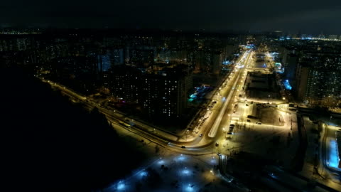 stockvideo's en b-roll-footage met moskou slaapkamer buitenwijk. luchtfoto - moscow russia