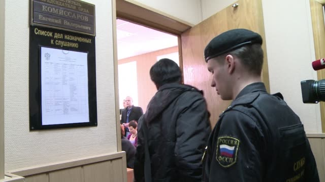a moscow court hears a complaint from star bolshoi ballet dancer nikolai tsiskaridze who says he was unfairly treated when he was falsely accused of... - bolshoi ballet company stock videos and b-roll footage