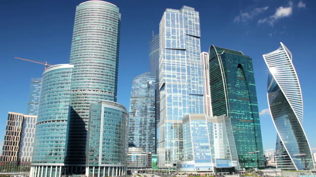 moscow international business center - embankment stock videos and b-roll footage