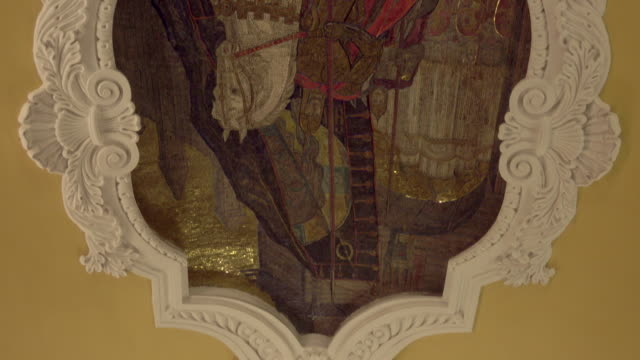 Moscow Metro, Mosaic paintings on the ceiling