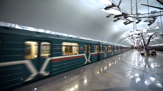 moscow metro - moscow russia stock videos and b-roll footage