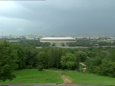 moscow russia is home to the luzhniki stadium - luzhniki stadium stock videos & royalty-free footage