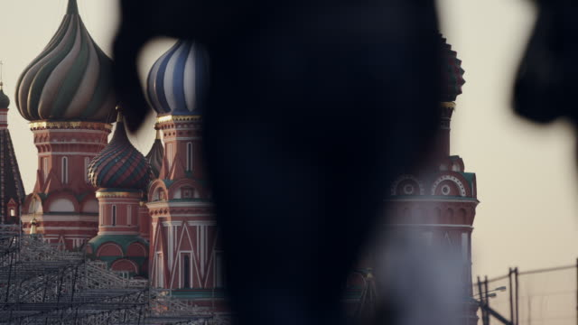 moscow, russia - red square stock videos & royalty-free footage
