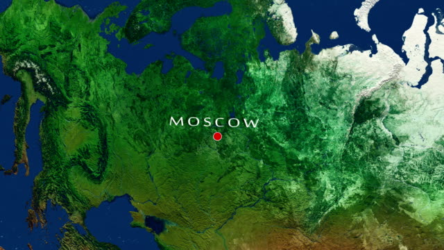 moskau-zoom in - moscow russia stock-videos und b-roll-filmmaterial