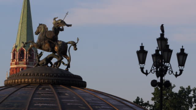 moscow's red square - animal representation stock videos & royalty-free footage