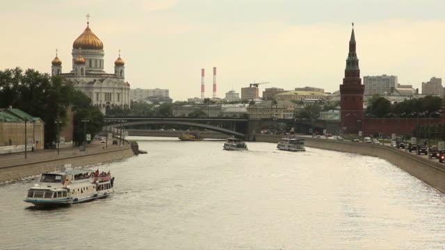 Sul fiume Moskva
