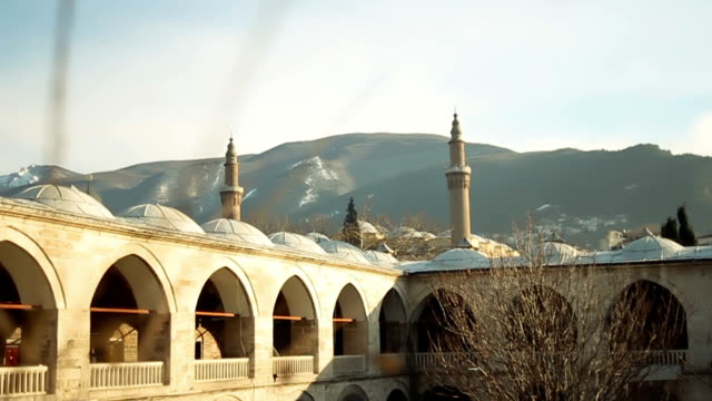 mosque and its surroundings - mausoleum stock videos and b-roll footage