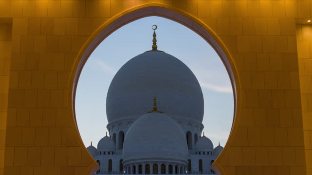 mosque architecture part illuminated transition - unity stock videos & royalty-free footage