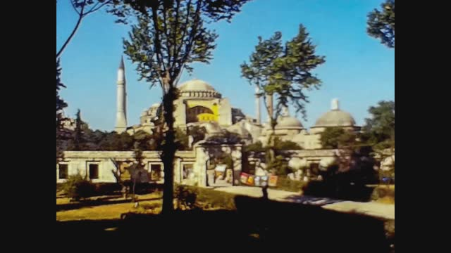 mosque in istanbul in 70's - istanbul stock videos & royalty-free footage