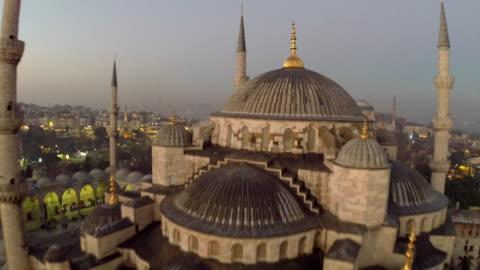 モスクイスタンブールで - スルタンアフメト・モスク点の映像素材/bロール