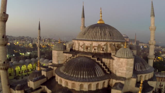 mosque in istanbul - istanbul stock videos and b-roll footage