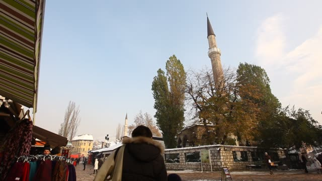 Mosque in Sarajevo old town