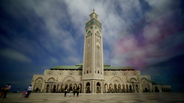 Mosque of Hassan II in Casablanca