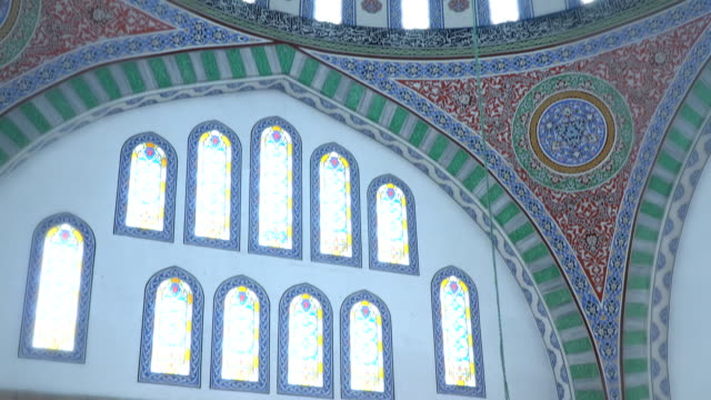 mosque ornamentals - pilgrim hat stock videos & royalty-free footage