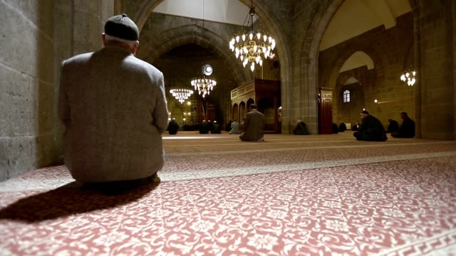 mosque, pray - praying stock videos & royalty-free footage