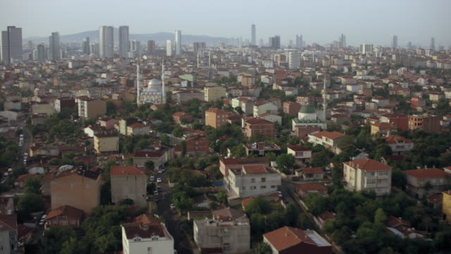Mosques In Residential Istanbul Turkey