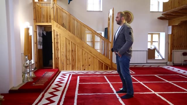 mosques in sarajevo have been cleaned and prepared ahead of the muslim fasting month of ramadan although there will be no congregational prayers and... - fasting activity stock videos & royalty-free footage