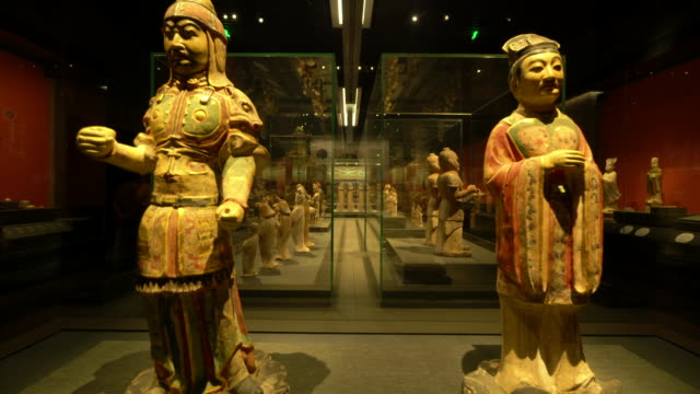 Most antiques in Shaanxi History museum are important cultures relics of silk road Shaanxi history museum a national level museums has a rich...