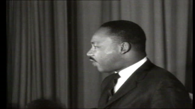 most requested 1960s 7121964 london martin luther king making speech on visit to london usa alabama martin luther king interviewed whilst on march... - martin luther king stock videos and b-roll footage