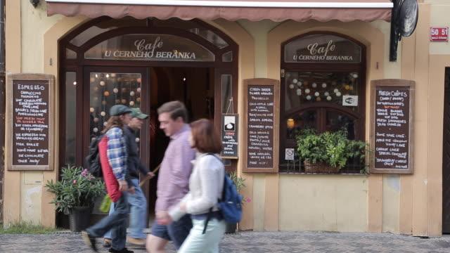 Mostecka Shops, Prague, Czech Republic, Europe