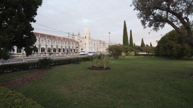 mosteiro dos jerónimos - mosteiro dos jeronimos stock videos and b-roll footage