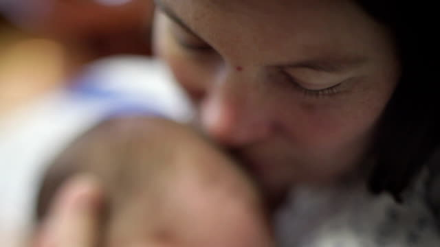 mother and baby - newborn stock videos & royalty-free footage