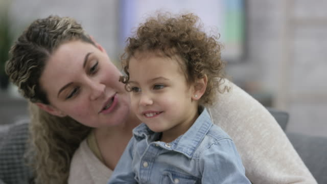 mother and daughter spending quality time together - illness stock videos & royalty-free footage