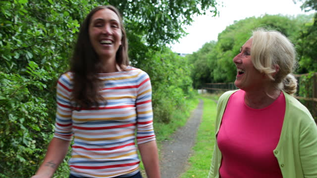 mother and daughter time - laughing stock videos & royalty-free footage