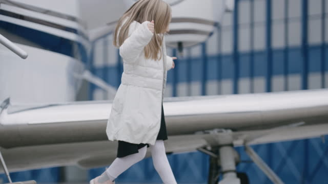 mother and daughter - corporate jet stock videos & royalty-free footage