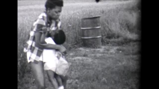 1955 mother and happy toddler - bloomers stock videos & royalty-free footage