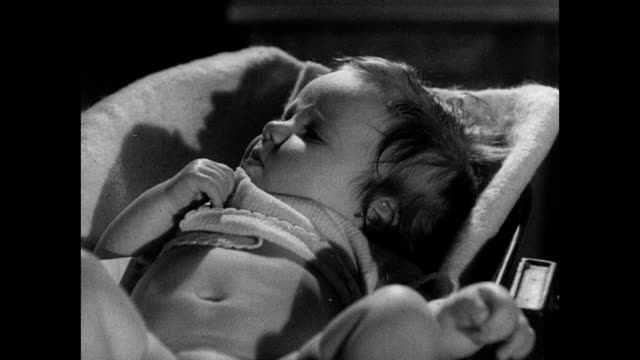 1939 - mother and nurse with newborn - unknown gender stock videos & royalty-free footage