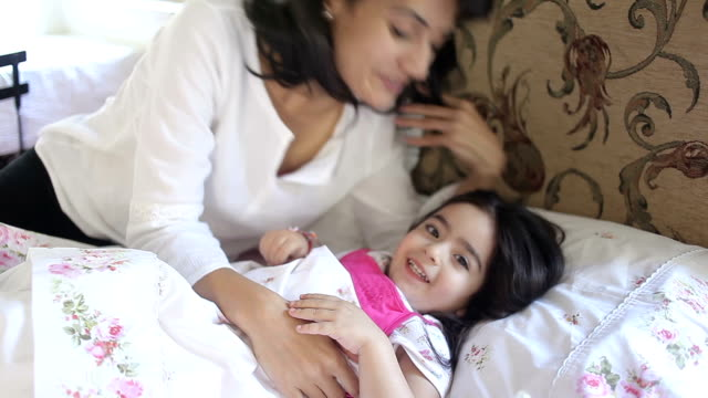 mother & daughter - mother and daughter making out stock videos & royalty-free footage