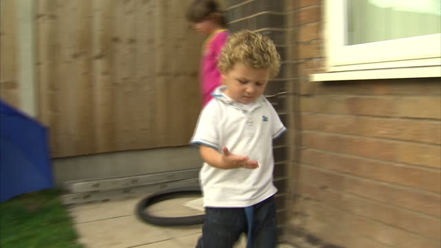 A mother has spoken to Sky News of her horror when her son's arm was ripped off by their washing machine It's thought the 3 year old was playing with...