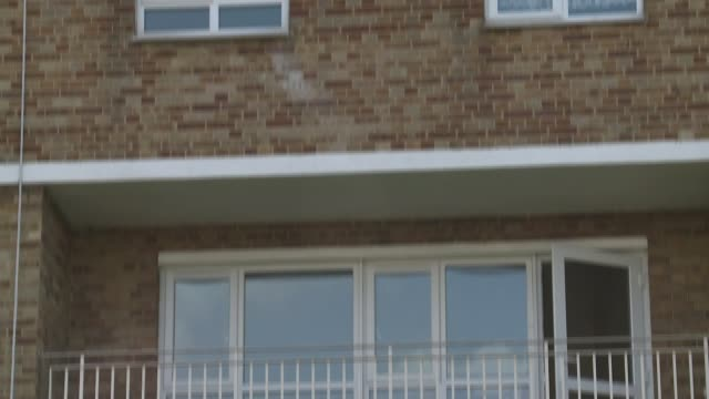 mother of a severely disabled child claims hackney council have failed her in search for housing england london homerton ext housing estate windows... - itv london tonight weekend点の映像素材/bロール