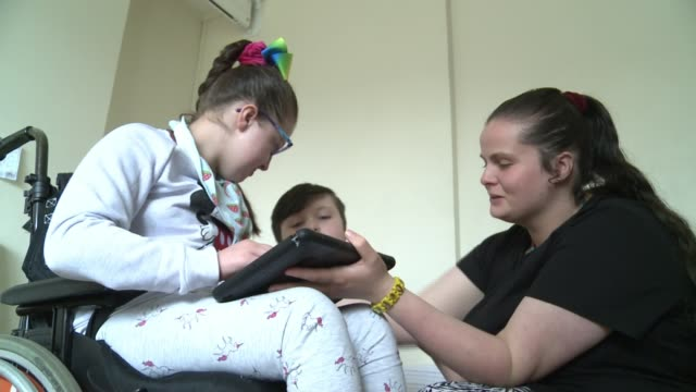 mother of a severely disabled child claims hackney council have failed her in search for housing england london homerton int various of margaret... - itv london tonight weekend点の映像素材/bロール