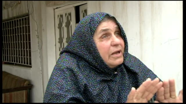 Mother of Abu Qatada says he should not face deportation JORDAN Amman EXT Aisha Othman interview SOT I swear he didn't do any thing in their county...