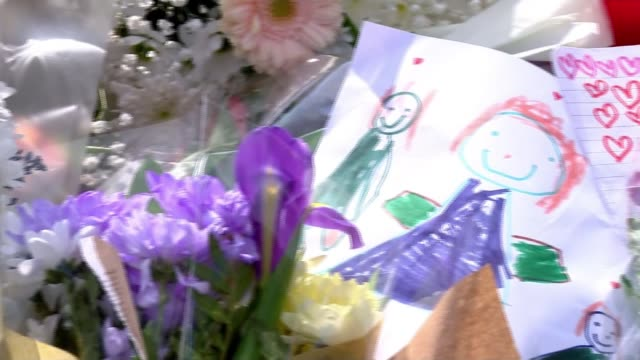 Mother pays tribute to young sons killed in Coventry hitandrun incident Coventry EXT Flowers and children's drawing left at scene of hitandrun...