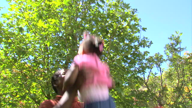 ms la mother playing with daughter (18-23 months) in park / salt lake city, utah, usa - 18 23 months stock videos & royalty-free footage