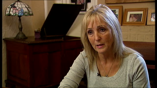 mother speaks of frustration with government after men accused of attacking robbie hughes released from jail maggie hughes interview sot cutaway... - 被告人点の映像素材/bロール
