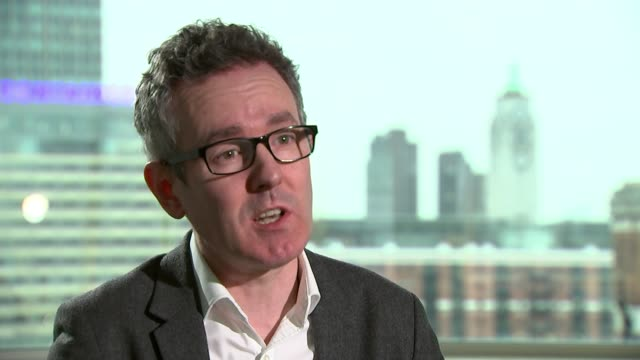 Mothercare profits warning following sales slump INT Patrick O'Brien interview SOT/ Various of shoppers along busy Oxford Street Christmas...