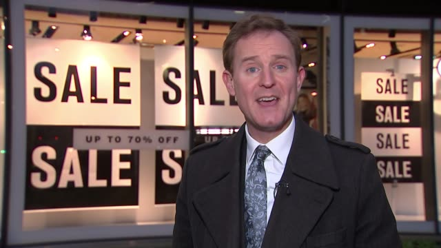 Mothercare profits warning following sales slump Oxford Street Reporter to camera