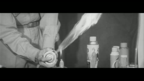 mothers have it hard/kitchen. insect-killing sprays are flammable and dangerous, hair spray and nail polish are all flammable too, firefighters... - 虫除け点の映像素材/bロール
