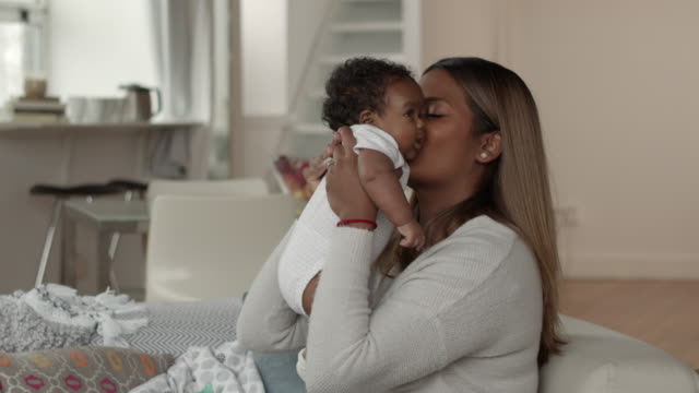 a mother's love - black woman giving birth stock videos & royalty-free footage